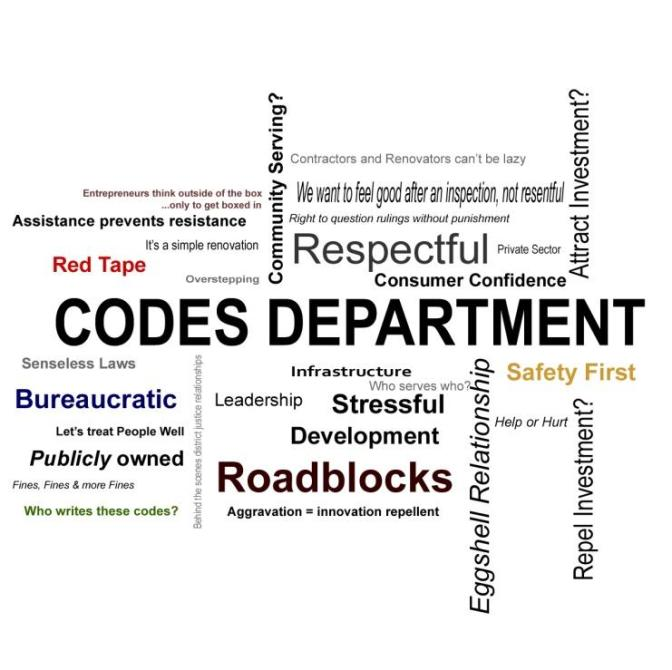 The Codes Department: Friend or Foe? By: Beau Brown