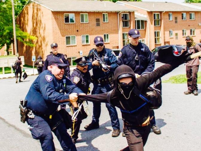 AntiFA Terrorizes Harrisburg, PA