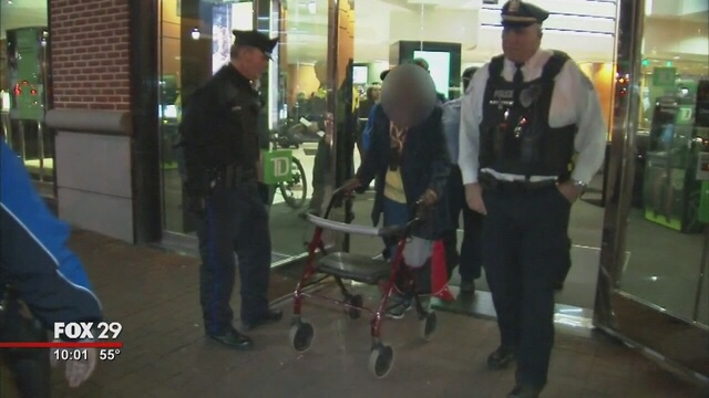 Police: 86-year-old woman tries to rob Philadelphia bank